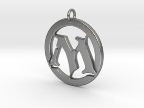 Magic Pendant in Natural Silver
