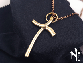 Cross Pendant in 18k Gold Plated
