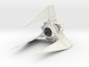 Action Fleet TIE Phantom conversion in White Natural Versatile Plastic