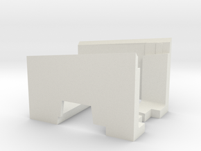 TK-12 Alignment Overhang Gauge for the Dual 1019 in White Natural Versatile Plastic