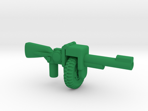 Steel-Belted Thompson Special  in Green Processed Versatile Plastic: Large