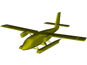 1/200 scale DHC-6 Twin Otter seaplane x 1 in Smooth Fine Detail Plastic