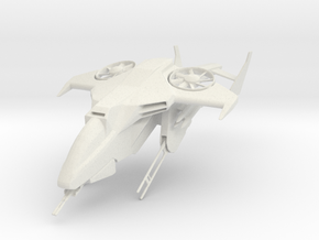 Halo UNSC Sparrowhawk in White Strong & Flexible