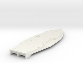 Mk2  Lava Surfboard in White Natural Versatile Plastic