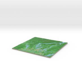 Terrafab generated model Fri Jul 07 2017 23:54:05  in Full Color Sandstone
