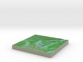 Terrafab generated model Thu Sep 14 2017 14:46:55  in Full Color Sandstone