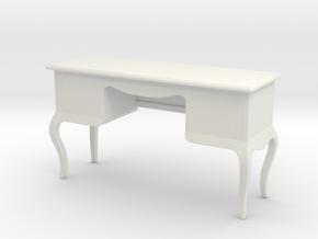 Printle Thing Secretaire 01 - 1/24 in White Natural Versatile Plastic