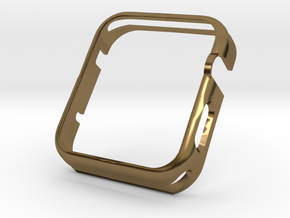 Apple Watch Gold Cover Case 42mm in Polished Bronze