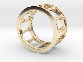 Greek Ring in 14K Yellow Gold: 4.5 / 47.75