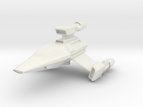 T-Wing in White Natural Versatile Plastic