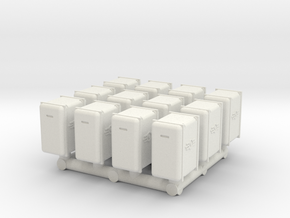 Bunker-Tec Storage Container Pack 2 in White Natural Versatile Plastic