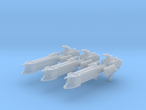 Falchion Escort Frigates in Frosted Ultra Detail