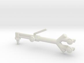 1/10 scale TORCH in White Natural Versatile Plastic