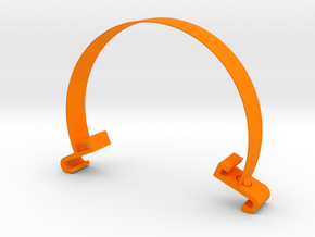 violin bowing corrector in Orange Processed Versatile Plastic