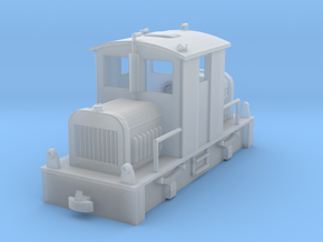 Diesel Tractor H0e in Smoothest Fine Detail Plastic