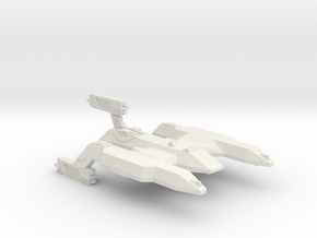 3125 Scale LDR Battlecruiser (BC) CVN in White Natural Versatile Plastic