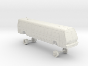 HO Scale Bus TMC RTS-06 GGT 1100s/1200s in White Natural Versatile Plastic