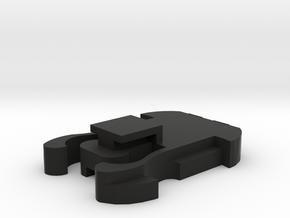GoPro Clip to Rexing Dashcam mount BEST WAY in Black Natural Versatile Plastic