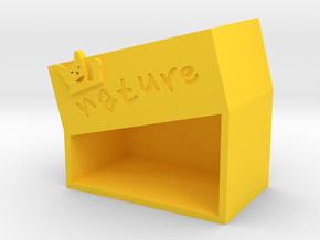 cat-b in Yellow Processed Versatile Plastic