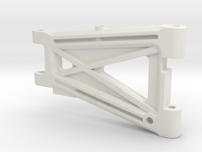 OT-69 Optima Mid Rear Arm in White Natural Versatile Plastic