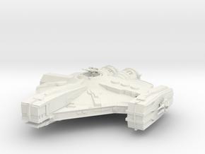 Old Republic Smuggler ship in White Natural Versatile Plastic