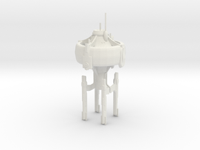 U.S.S. Orion in White Natural Versatile Plastic