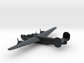Consolidated B-24J (w/o landing gears) in Black Hi-Def Acrylate: 6mm