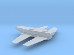 Zeta Class Cargo Shuttle in Smooth Fine Detail Plastic