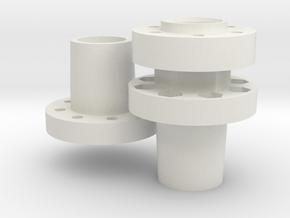 Jabber Radmitnehmer Set in White Natural Versatile Plastic