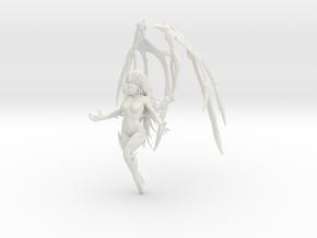 1/7 QoB Kerrigan Hover Pose in White Natural Versatile Plastic