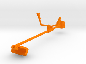 Freischneider Motorsense in Orange Processed Versatile Plastic