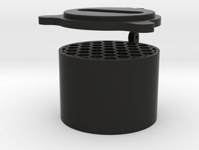 40mm Kilflash with cover in Black Natural Versatile Plastic