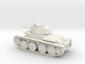 VBA Light tank LT vz.38 - Panzer 38(t) - 1/48 in White Strong & Flexible