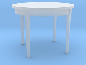 TT Dinner Table - 1:120 in Smooth Fine Detail Plastic
