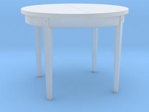 TT Dinner Table - 1:120 in Smooth Fine Detail Plastic