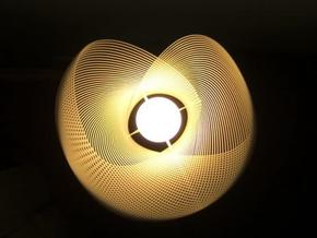 Clothoid.B Lamp in White Natural Versatile Plastic