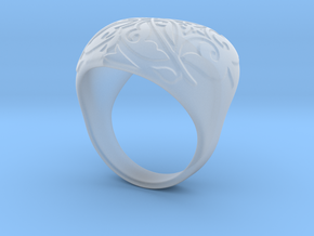 Heart Ring in Smoothest Fine Detail Plastic