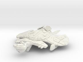Klingon Tar Class  War Assault Carrier in White Natural Versatile Plastic