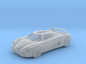 Agera 2011   1:120 TT in Smooth Fine Detail Plastic
