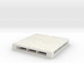 TRP-E-Castle-Floor-v3.0 in White Natural Versatile Plastic