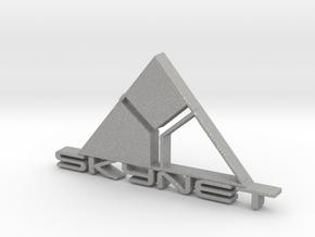 SKYNET emblem in Aluminum