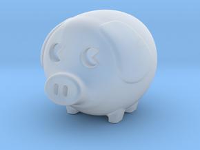 mini piggy in Smooth Fine Detail Plastic