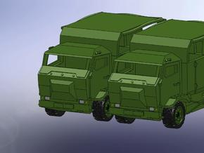 2 x Multicar Mungo  1:160 in Smooth Fine Detail Plastic