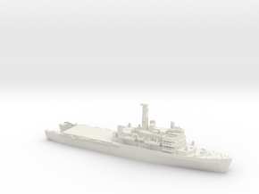 1/1250 HMS Fear open welldeck in White Strong & Flexible
