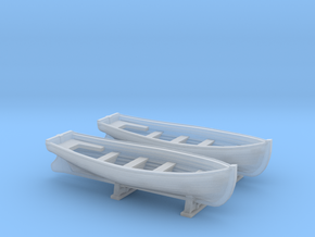 1/350 DKM Boat 6m Long Set in Smooth Fine Detail Plastic