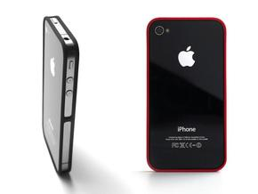 4-4 case for iPhone 4 GSM + CDMA/Verizon in Black Natural Versatile Plastic