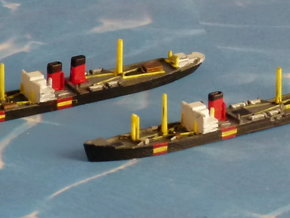 "German Auxiliary Cruiser HSK ""Widder"" 1/2400 in Smooth Fine Detail Plastic"