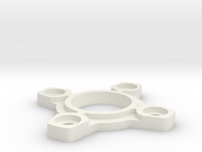 Sanwa JLW GT-O compatible restrictor plate in White Natural Versatile Plastic