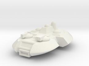 Ovali-Frigate in White Natural Versatile Plastic