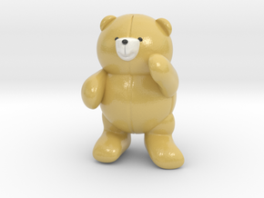 Pocket bear in Coated Full Color Sandstone
